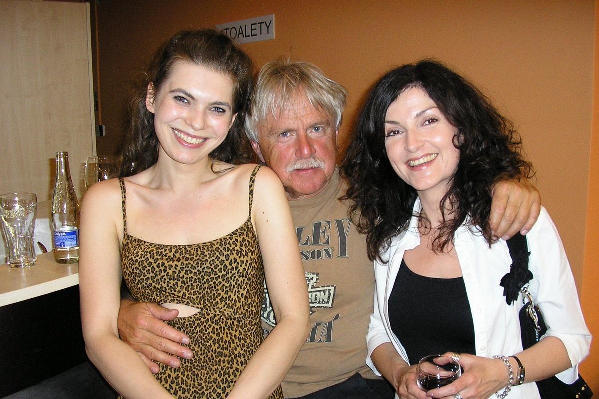 S Majkou Andrašovanovou a Jankom Lehotským