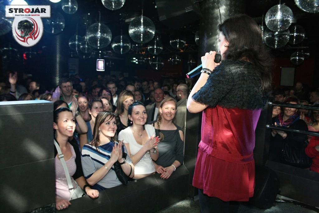 V klube Panter v Martine
