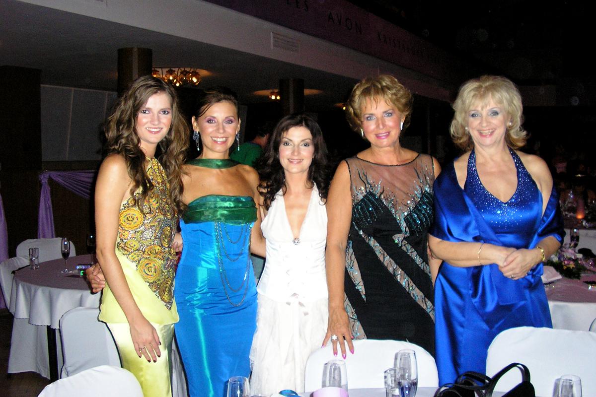 S Hanou Rapantovou, Alenou Heribanovou, Adou Strakovou a Norou Beňačkovou