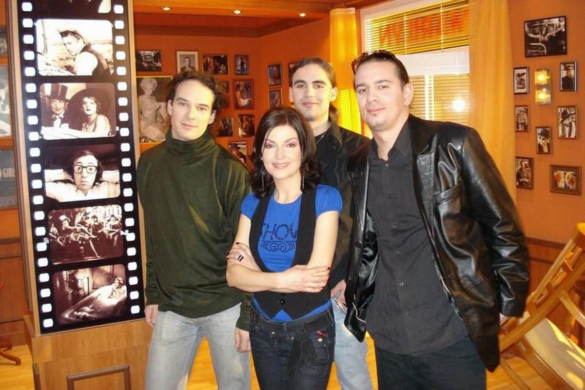 So skupinou Setback pri natáčaní Paneláku