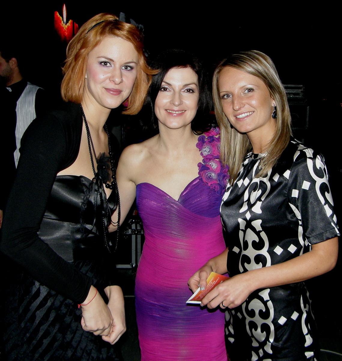 S Kristínou Farkašovou a Michaellou Pappovou