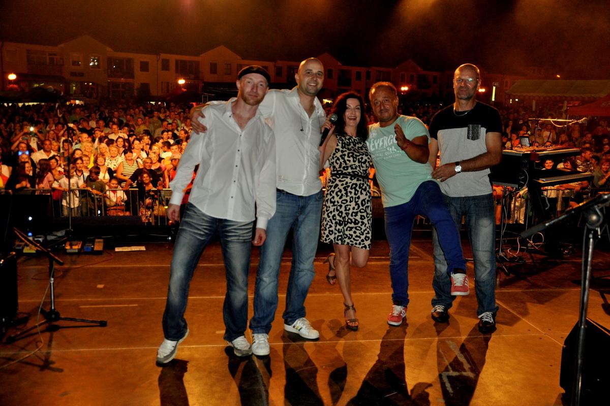 So skupinou Panama po koncerte v rodnom Stropkove