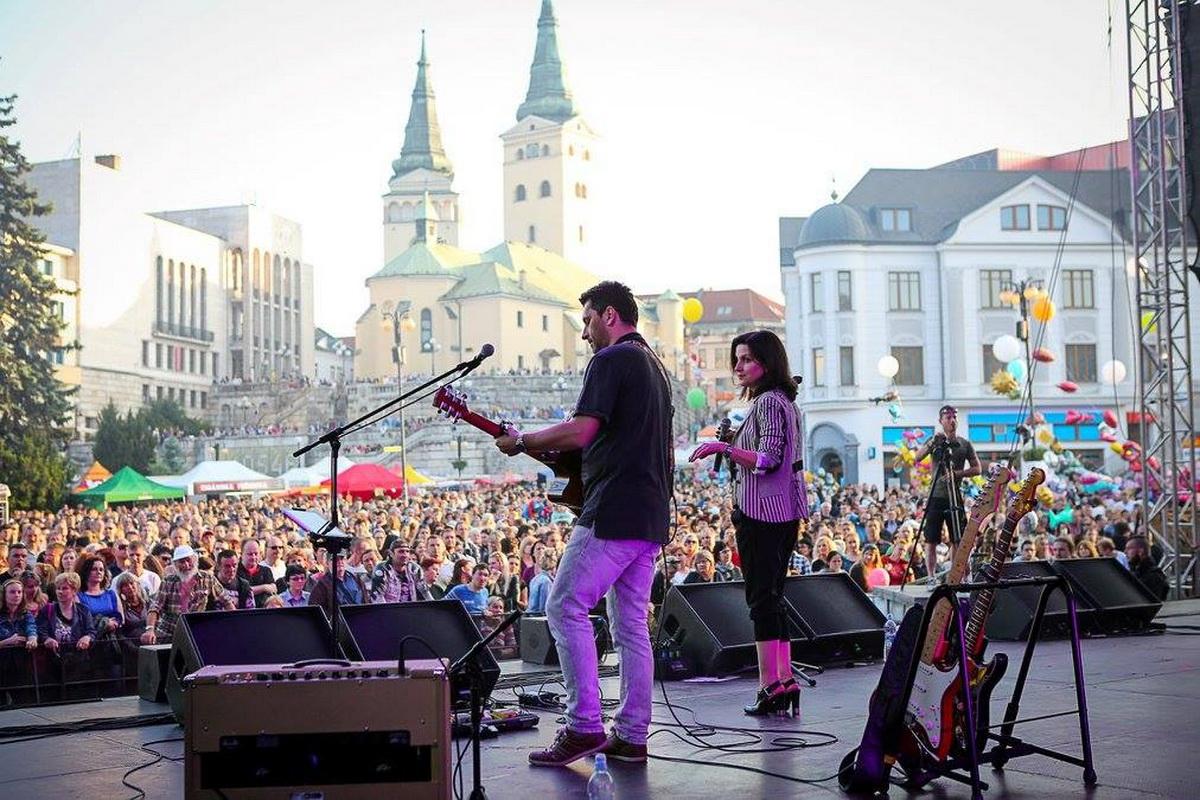 Staromestské slávnosti Žilina 2016