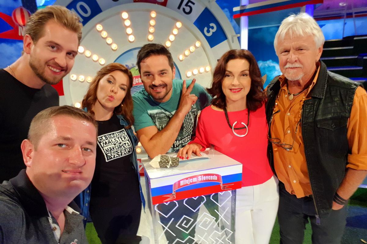 Z TV šou Milujem Slovensko