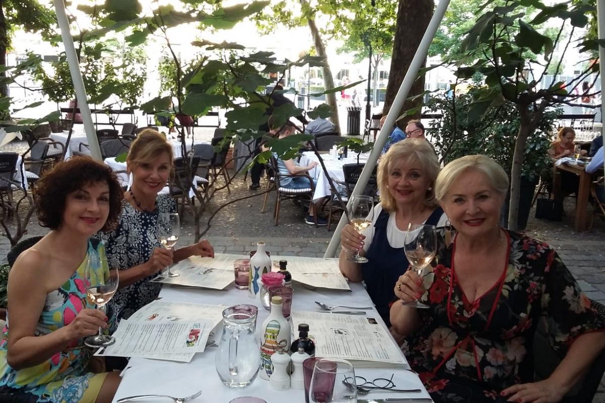 S Alenou Heribanovou, Norou Beňačkovou a Adou Strakovou